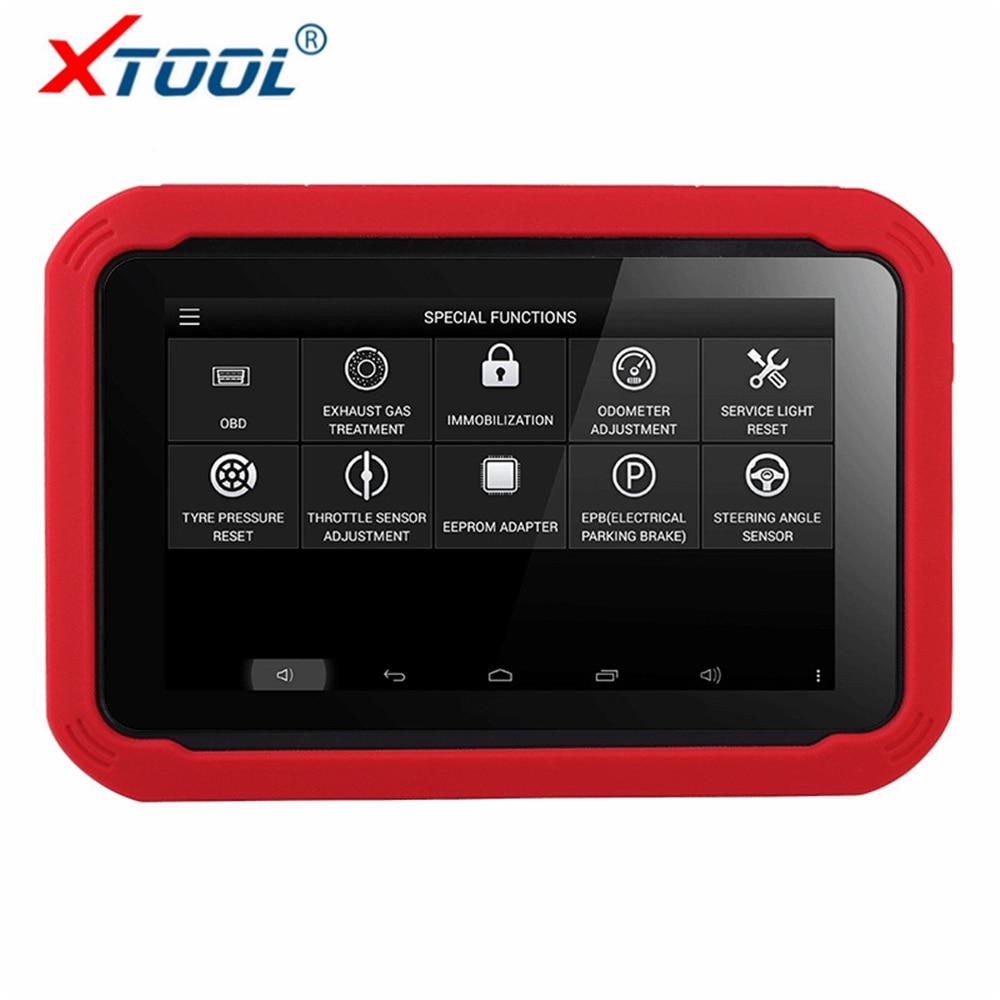 100% Original XTOOL X100 PAD Ferramenta de Correção de Odômetro Programador Chave Auto ferramenta de Diagnóstico Do Carro Profissional com Função Especial