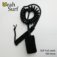 SUP Board Surfplank 6ft-12ft Leash 10ft-9mm Surf Accessoires Surf Coil Leash Neopreen Strape