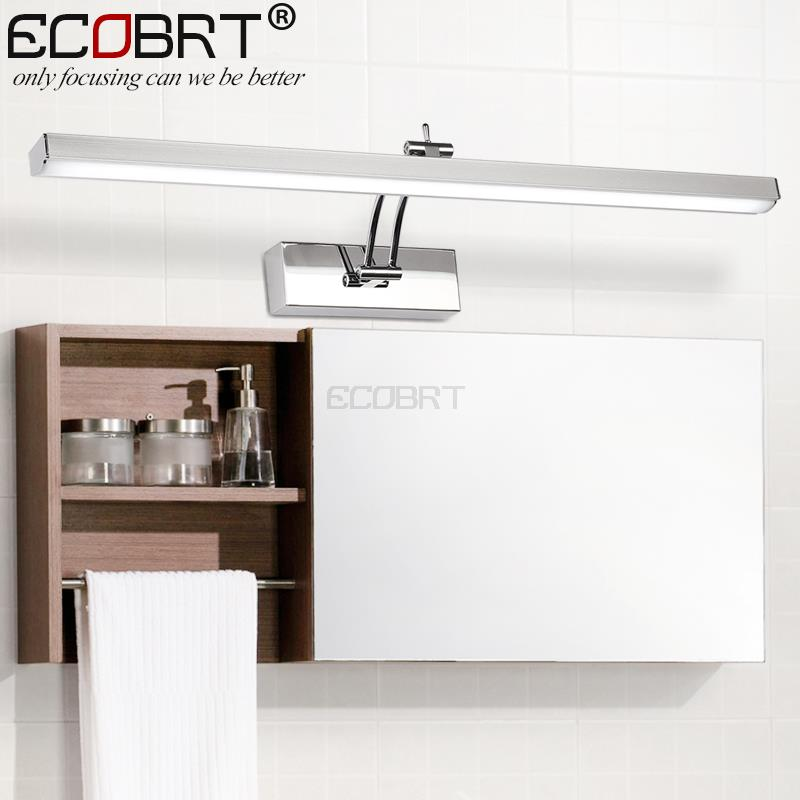 [ECOBRT] Indoor LED Bathroom Lights Wall Mounted Modern 12W LED Wall Lamps for Home Picture Lights Sconces AC 110 / 220V led 5w modern wall lamps indoor bedsides lighting surface mounted wall lights home bathroom painting make up mirror sconces