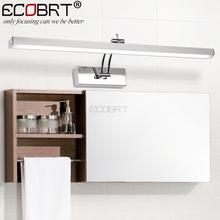 [ECOBRT] Indoor LED Bathroom Lights Wall Mounted Modern 12W LED Wall Lamps for Home Picture Lights Sconces AC 110 / 220V
