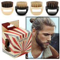 New Portable Multifunctional Men's Beard Brushes Men Shaving Brush Best Horsehair Shave Wood Handle Razor Barber Tool Beauty Beauty Tools