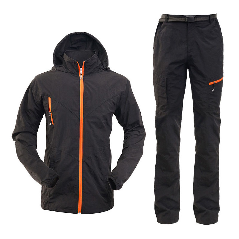 Buy nonstop fishing clothing set outdoor for Waterproof fishing clothing