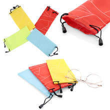 Random Color 2/5/10Pcs Unisex Eyewear Covers Glasses Multi-Functional Cloth Cleaning Sunglasses Bags Optical Protecter Accessory