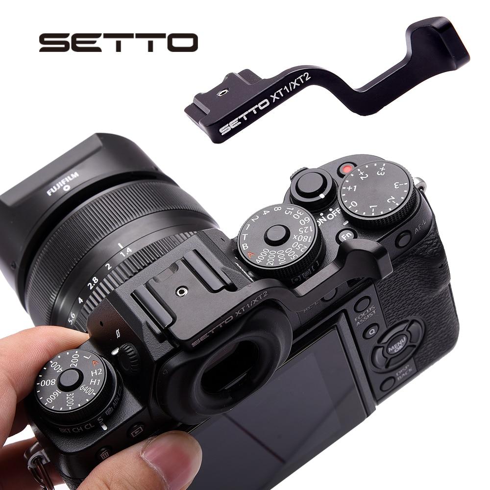 SETTO pour Pouce Poignée Fait pour Fujifilm Fuji XT1 X-T1 XT2 XT-2 X-T3 XT3 Caméra