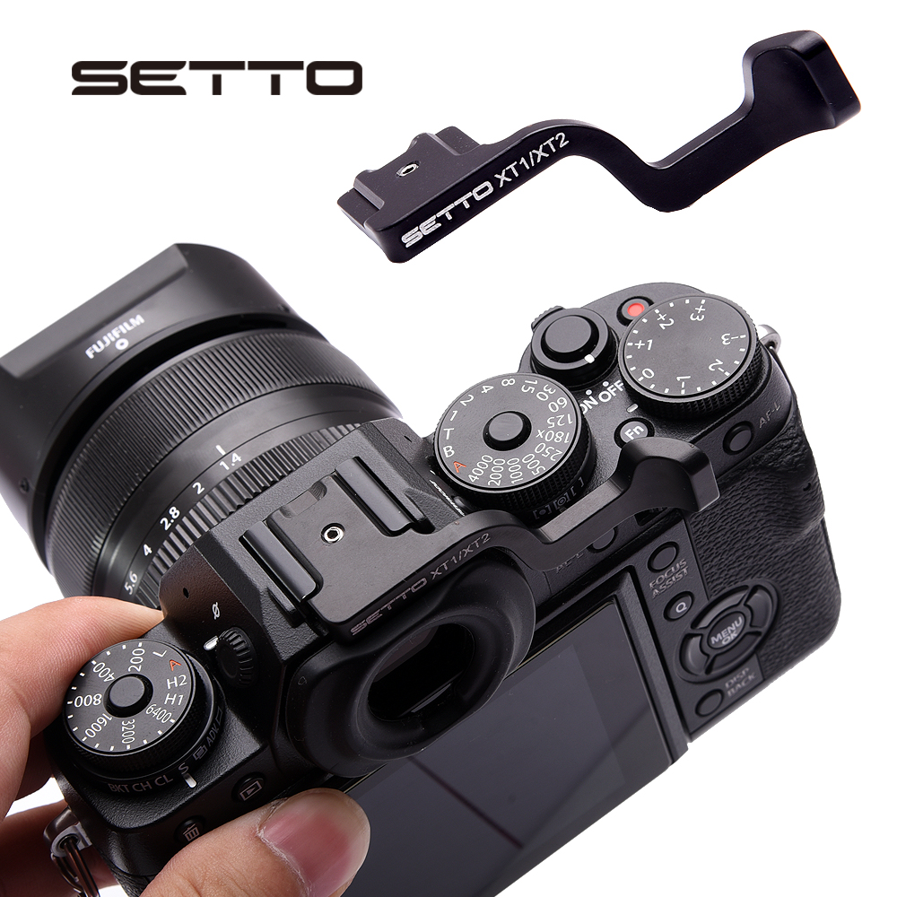 US $11 96 8% OFF|SETTO for Thumb Up Grip Made for Fujifilm Fuji XT1 X T1  XT2 XT 2 X T3 XT3 Camera-in Photo Studio Accessories from Consumer