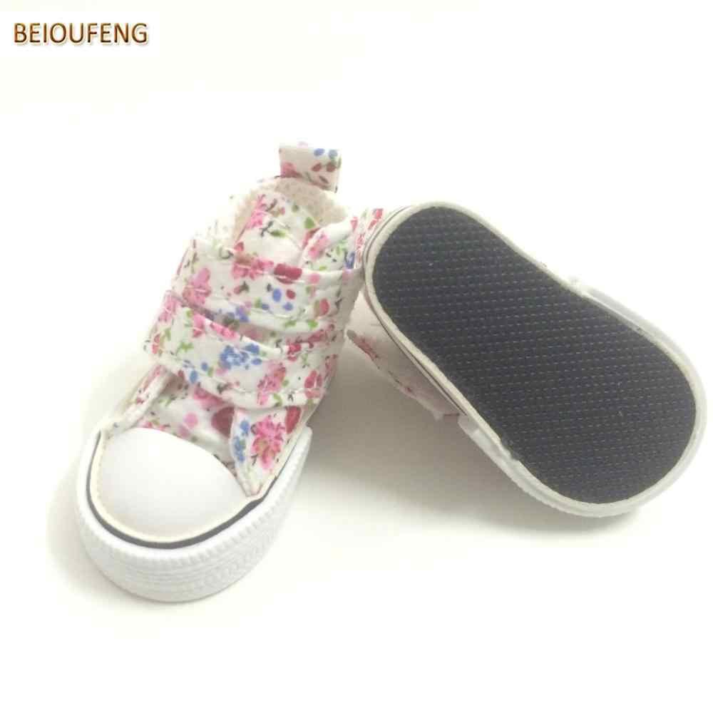 6 см мини игрушка парусиновая обувь 1/4 BJD кукла обувь для кукол Paola Reina, кроссовки в стиле кэжуал обувь кукольная обувь куклы аксессуары 6 пара/лот