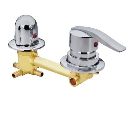 Vidric wall mounted 2/3/4/5 Ways water outlet brass shower tap screw or intubation Copper shower cabin shower room mixing valve цена