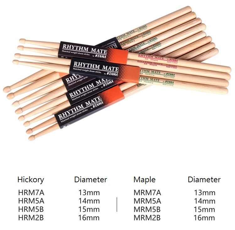 Detail Feedback Questions about TAMA Rhythm Mate Drum Stick