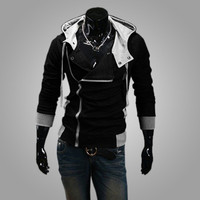 The Explosion Of Cheap Men S Hooded Zipper Hoodie M 5XL