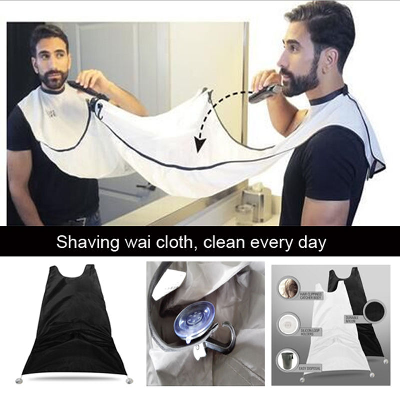 Nylon Shaving Wai Cloth Dye Hair Cloth Scarf Folding Retro Men Shaving font b Razor b