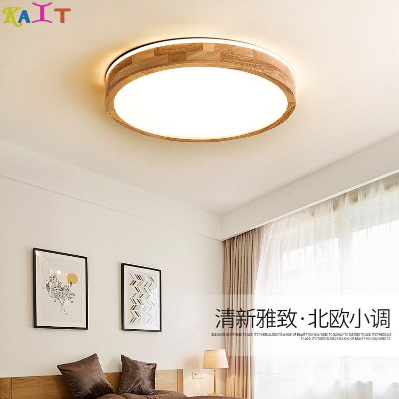 Luces Led regulables de techo nórdicas KAIT, lámparas de techo para sala de estar accesorio de iluminación de techo Led restaurante