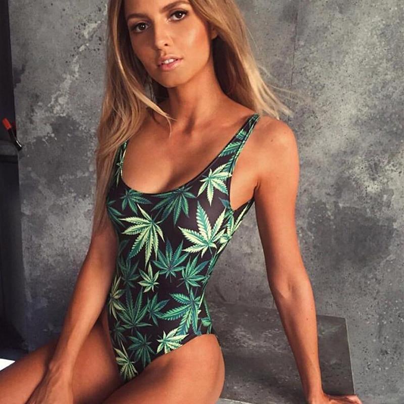 Onefa Womens Swimming Stripe Print Swimsuit Swimwear Push Up Beach Bikini Sets Soft Comfy Swimwear