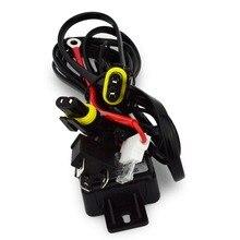 Safego 1X монтажный жгут для реле для автомобиля HID Би-ксеноновые лампы белого цвета Conversion Kit H4 Hi/lo HID Лампа реле Жгут
