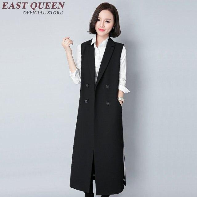 female Jacket Y Long Office Lady Sleeveless Vestsamp; Women Aa2886 Waistcoat 45Off Us49 Casual Vest 5 In Wear BrdCoWxEQe