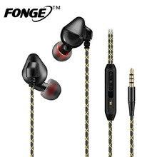 S600 Fonge Estéreo Fone de Ouvido Música Esporte Correndo Fone de Ouvido Em Fones de ouvido Baixo com Microfone Microphon Para Samsung Mobile Phone fone de ouvido