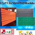 Cor vermelha interior tecnologia de matriz de pontos levou painel de afixação F5.0 p7.62 mm interior execução mensagem levou módulos 488*244mm