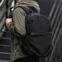 Portable Fashion Travel Backpacks Zipper Soild Nylon Back Pack Daily Traveling Women Men Shoulder Bags Folding Bag women men backpack riding back pack bag ultra light folding waterproof travel nylon shoulder bags