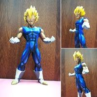 WVW 26 CM Brinquedos Hot Anime Dragon Ball Z Figura de Ação De Alta qualidade PVC Super Saiyan Goku Vegeta Action Figure Modelo de Brinquedo Por Atacado