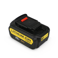 4000mAh 20V Lithium ion Battery for Dewalt power tools drill DCB200 DCB204 2 DCB180 DCB181 DCB182 DCB203 DCB201 DCB201 2 DCD740