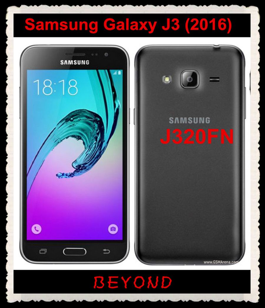 Samsung Galaxy J3 2016 J320FN Original Unlocked 4G LTE Android Mobile Phone  Quad Core 5 0