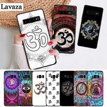 Lavaza Floral Om Yoga Hindu Aum om yaga Silicone Case for Samsung S6 Edge S7 S8 Plus S9 S10 S10e Note 8 9 10 M10 M20 M30 M40