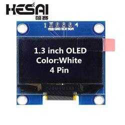 1,3 Inch OLED Modul Weiß Farbe 128X64 OLED LCD LED Display Modul 1,3 IIC I2C SPI Kommunizieren für arduino Diy Kit