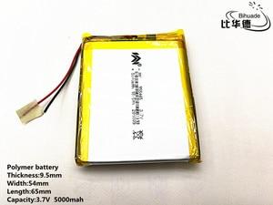 Image 4 - 2pcs/lot 3.7V,5000mAH,[955465] PLIB; polymer lithium ion battery / Li ion battery for tablet pc,power bank,E BOOK;