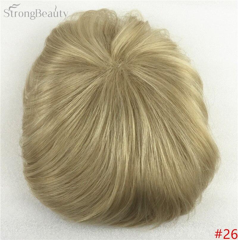 Сильная красота парик синтетические волосы парик выпадение волос топ кусок парики 36 цветов на выбор - Цвет: #26