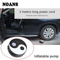 CHUKY Round Tai Chi Air Tire Car styling Pump Accessories For Nissan Qashqai J11 Alfa Romeo BMW E46 E39 E90 E60 E36 X5 E53 E70