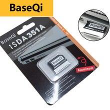 """BaseQi di Alluminio Per Microsoft Superficie Libro 2 15 """"MiniDrive memory stick pro duo adattatore Per macbook air pcmcia scheda di montaggio ssd"""