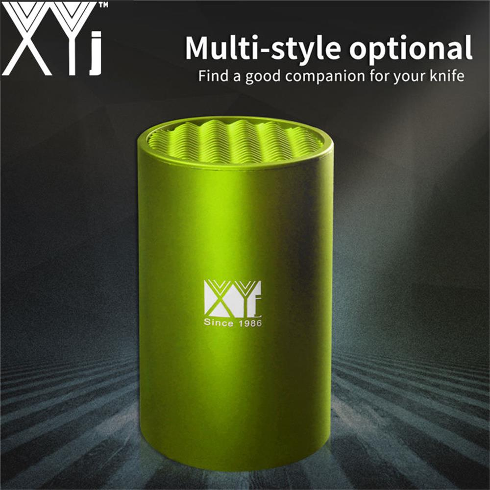 XYj Brand Ceramic Damascus Steel Stainless Steel Kitchen Knife Holder Cooking Tools Knife Stand Tool Holder 6