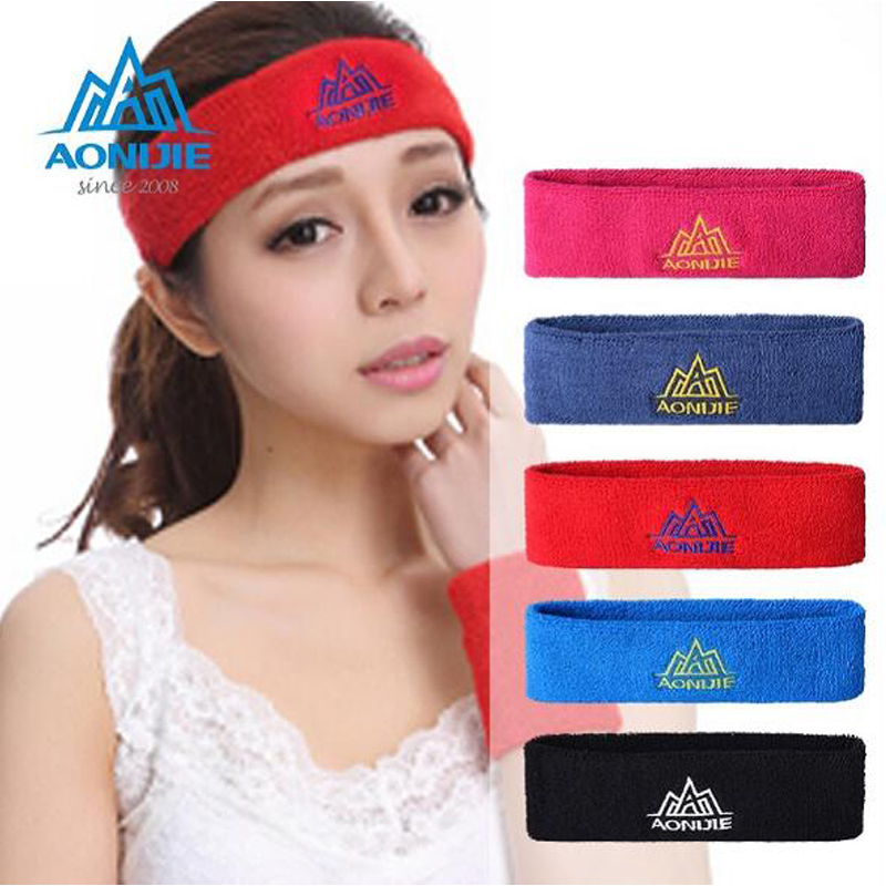 Cotton High Quality Running Antiperspirant Headband Sports Fitness Headband for Men Women Yoga Harness Headband Safety Head wear