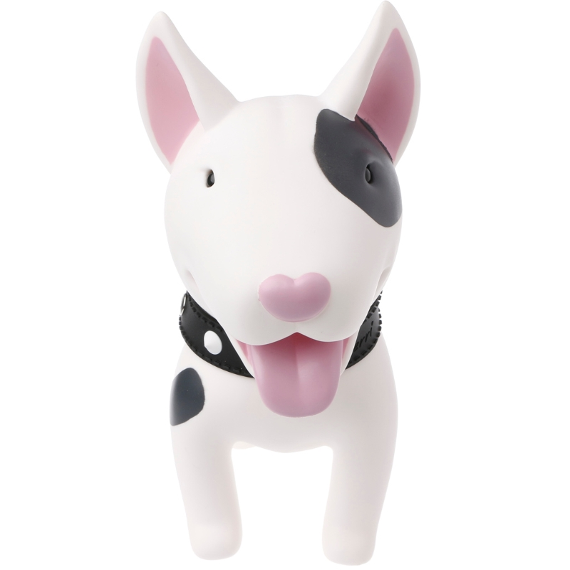 Kids Cute Bull Terrier Dog Piggy Saving Bank Cash Coin Money Pot Box Can Toy Kid Gift-m15 super heroes wolverine x men piggy bank coin money bank pvc action figure collectible model toy save money box for gift