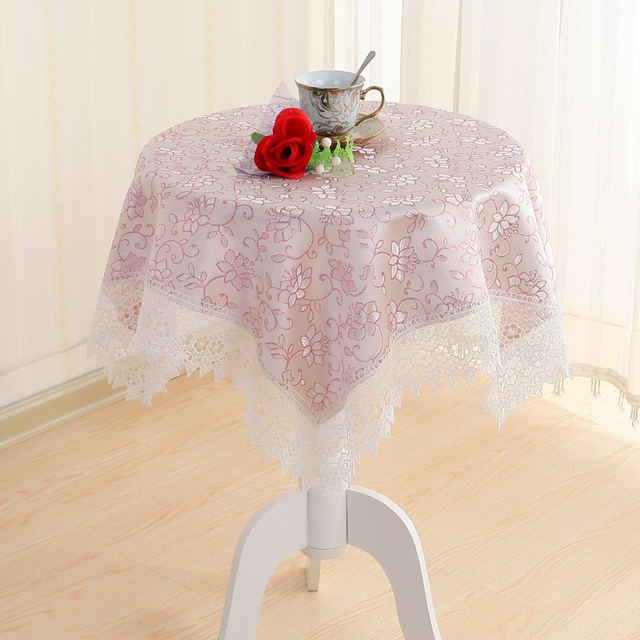 Table cloth square tablecloth small round table cloth rectangular garden room