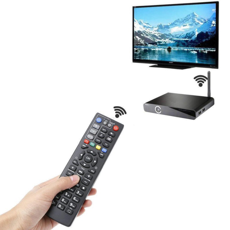 Image 2 - Remote Control With Learn Function For MAG250 MAG254 TV Box / IPTV Set Top Box-in Remote Controls from Consumer Electronics