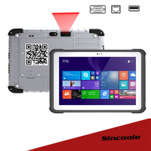 2D Barcode 10.1 inch 2 USB and RJ45 Home windows 10 professional  Rugged Tablets PC Free Delivery By DHL