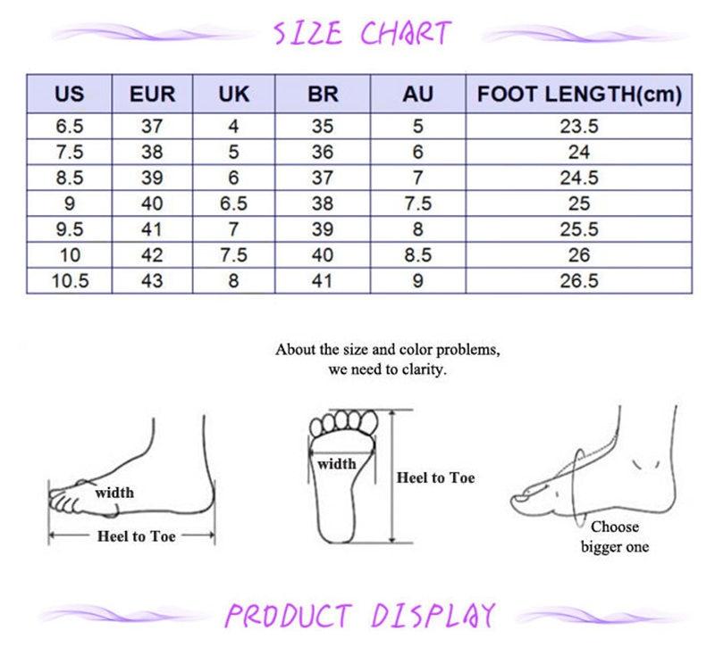 italian chaussure size conversion femmes's