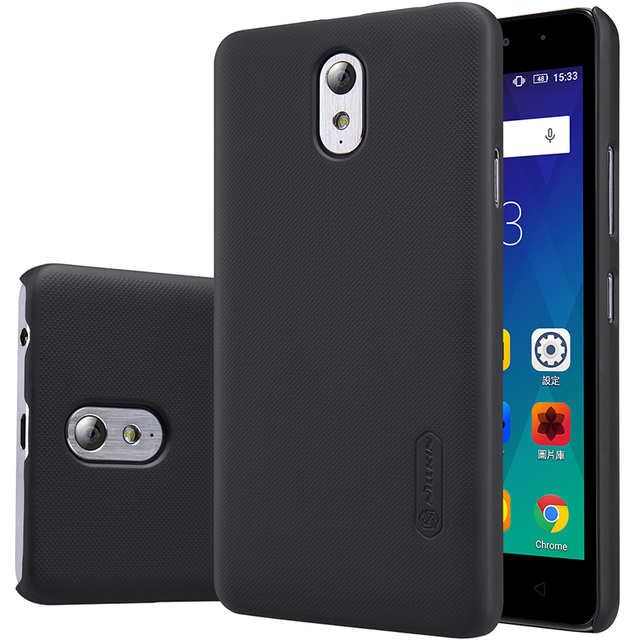 Lenovo vibe p1m case cover p1ma40 Nillkin frosted case for Lenovo vibe p1m p1ma40 with screen protector