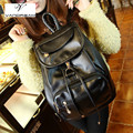 Fashion Large Women Backpack High Quality Youth Leather for Teenage Girls Female School Brand Black Shoulder Bag Bagpack Mochila