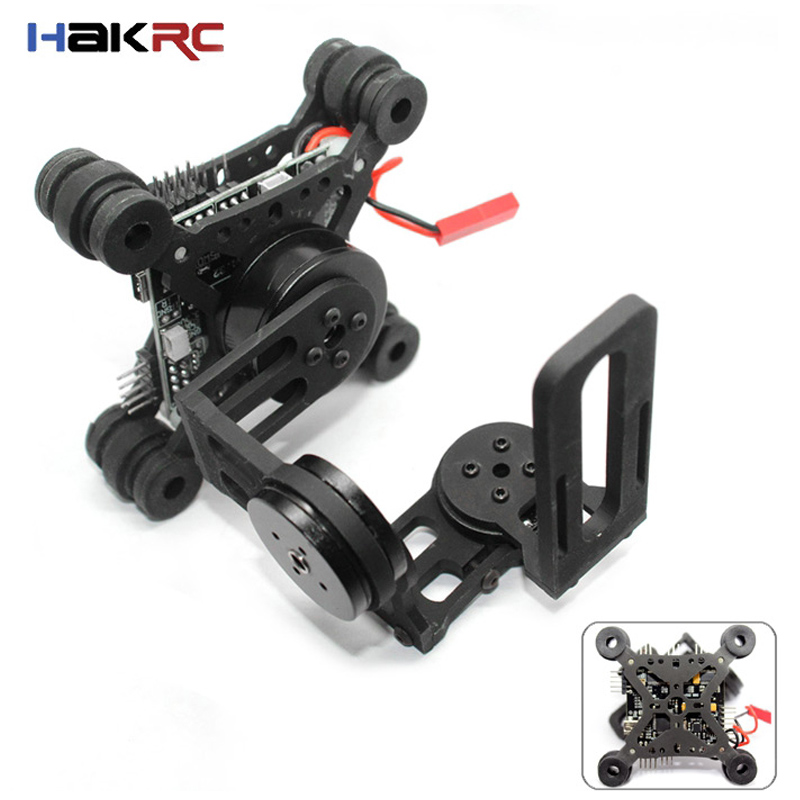 HAKRC Storm32 3 Axis Brushless Gimbal Lightweight Gopro3 Gopro4 FPV Fittings Black FPV Toys Accessory Parts Hot Sale yuneec q500 typhoon quadcopter handheld cgo steadygrip gimbal black