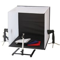 Portable 50 x 50 x 50 cm Camera Photo Studio Box Light Lighting cubeTent Kit with Tripod Four Backdrop