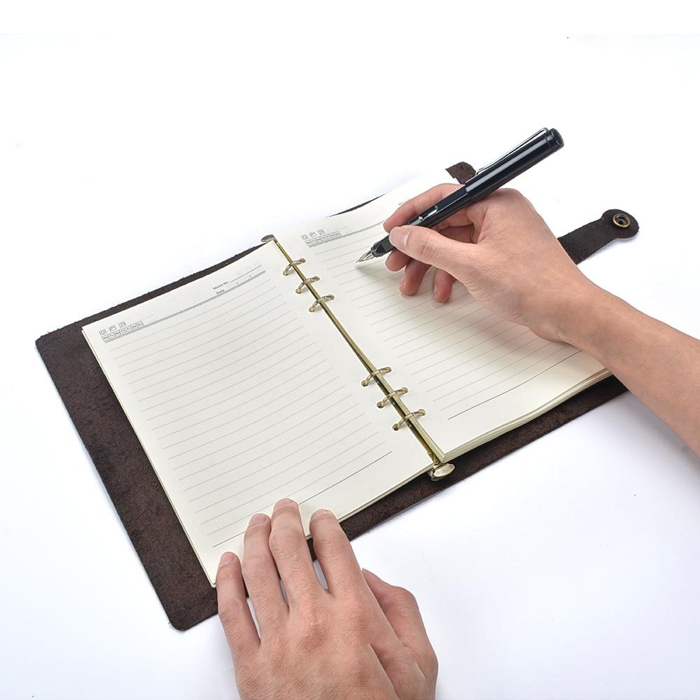 Cadernos moterm negócio clássico tampa recarregáveis Tipo : Livro de Composição