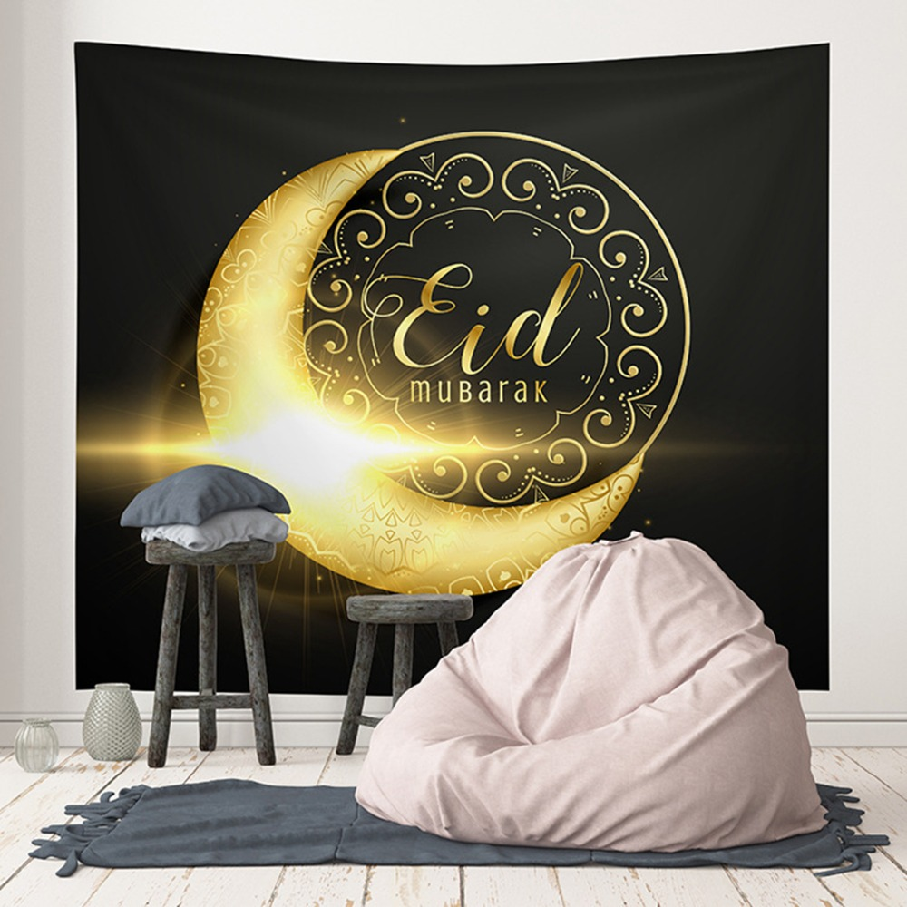 Eid Mubarak Decoration Tapestries Muhammad Ramadan Party Supplies Decor EID