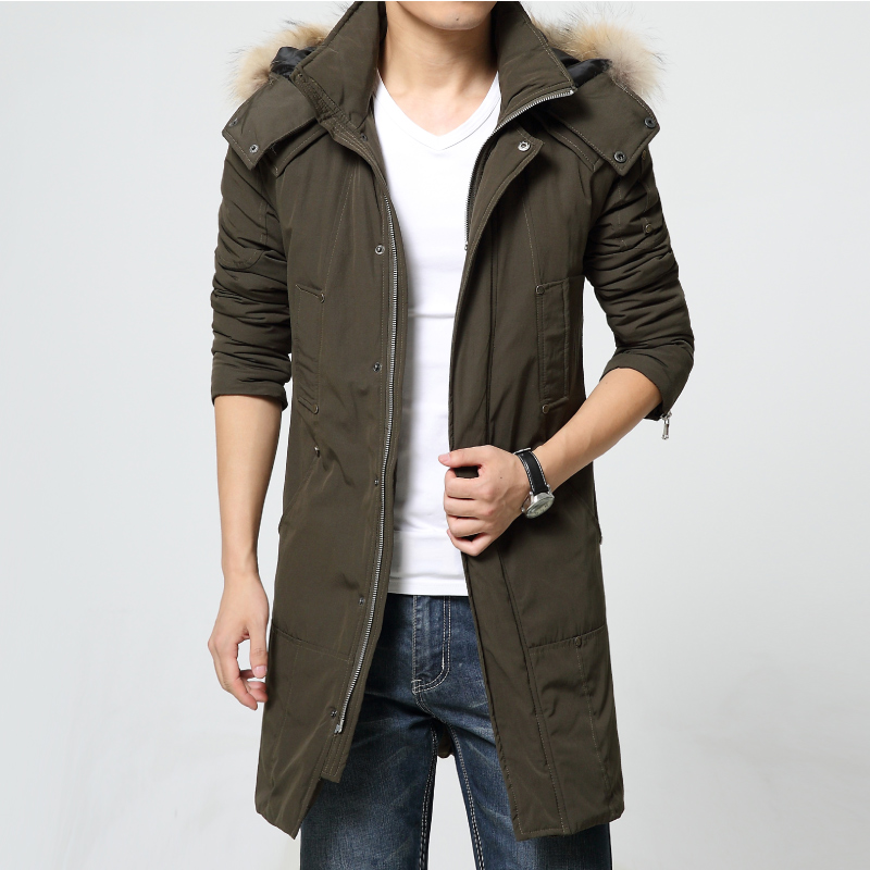 Compare Prices on Mens Long Winter Coats Hood- Online Shopping/Buy