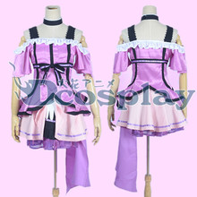 Lovelive tojo nozomi kousaka honoka princesa dress uniformes cosplay del traje del anime japonés de halloween de kira kira sensatien