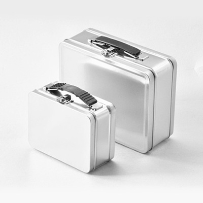 Lunch tin box gift metal box storage container tin can