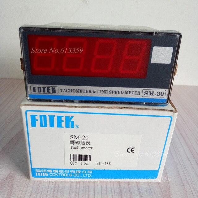 SM 20 FOTEKมัลติฟังก์ชั่เคาน์เตอร์T Achometerสายความเร็ว100%เมตรใหม่และต้นฉบับ