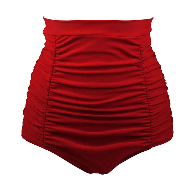 e9013df0ef Board Shorts Lady High waist Sexy polyester Solid color swim shorts hot  sell swimming trunks women