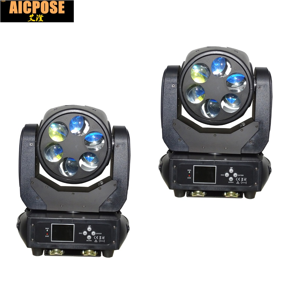 2pcs/lots 6x25w Super Beam Light DMX512 Zoom/Rotate Moving Head Light  /Bar /Party /Show /Stage Light LED Stage light2pcs/lots 6x25w Super Beam Light DMX512 Zoom/Rotate Moving Head Light  /Bar /Party /Show /Stage Light LED Stage light