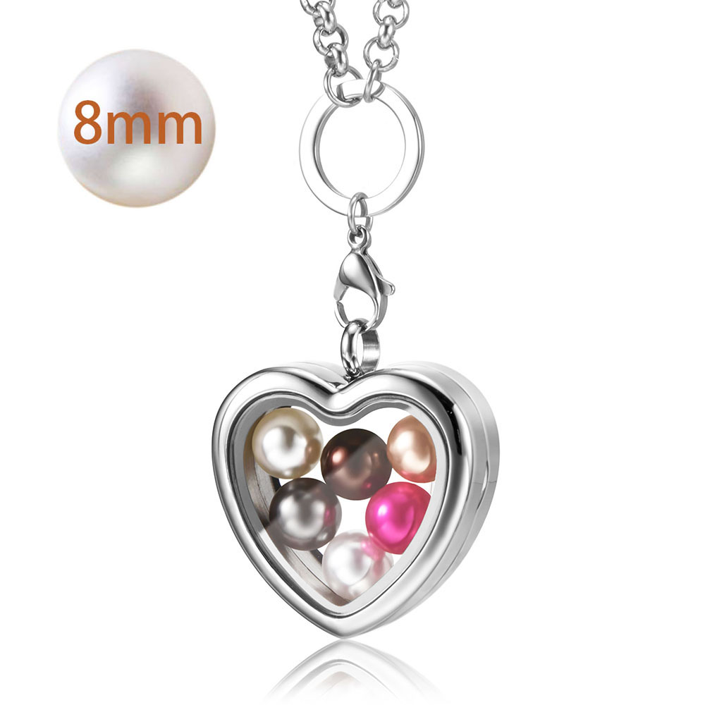 2018 Top selling pearl cage pendant fit 6 8mm pearl stainless steel gold locket pendant